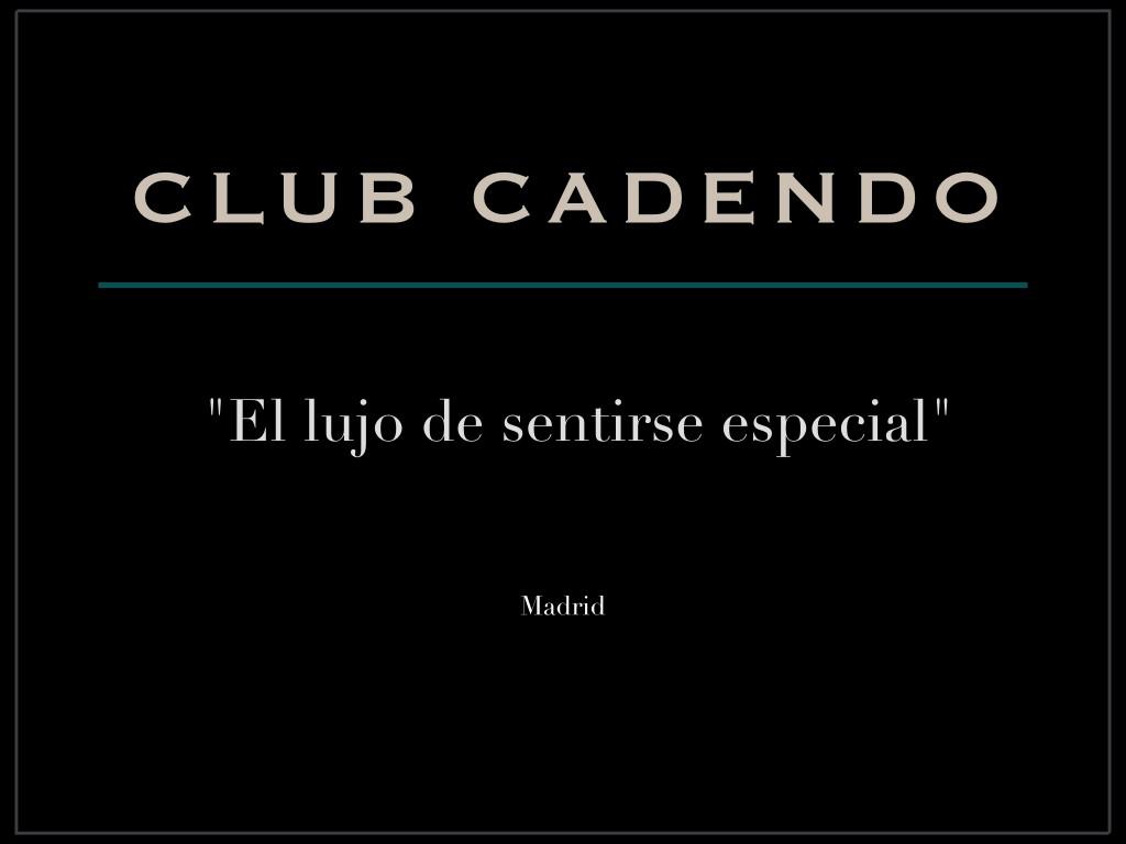 Servicios del Club