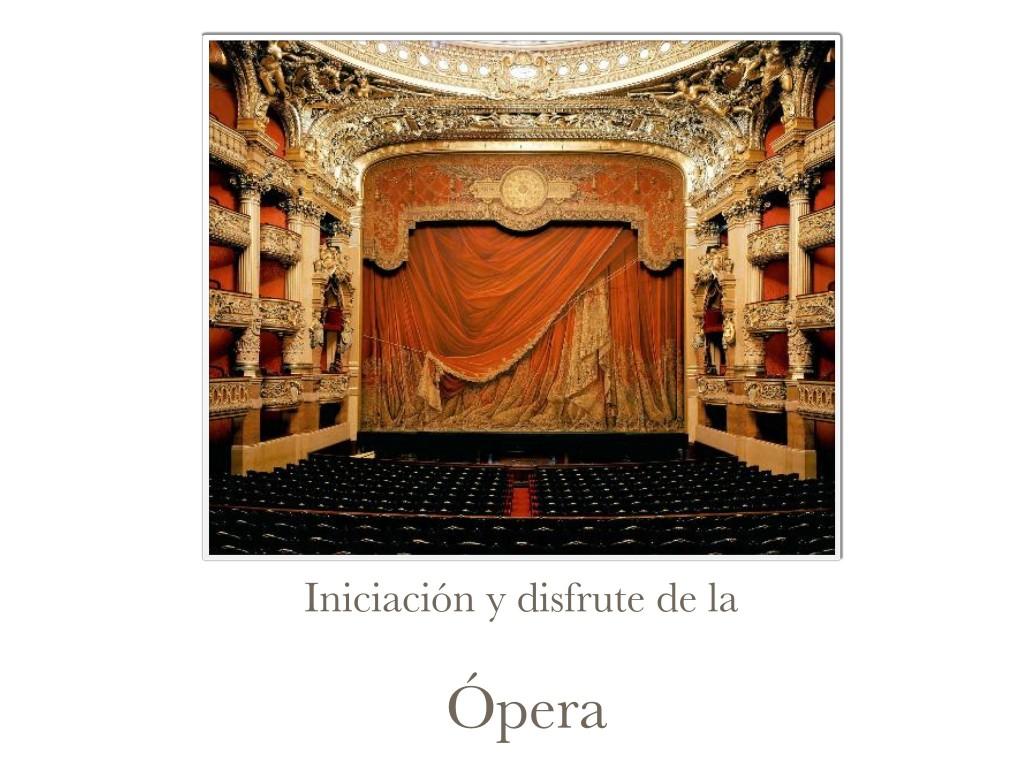 Cursos de Ópera